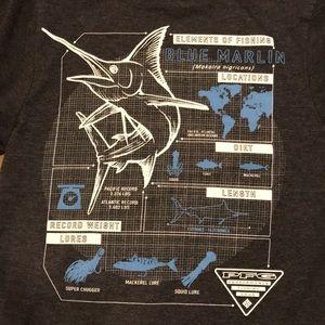 Columbia PFG Elements of Fishing Shirt